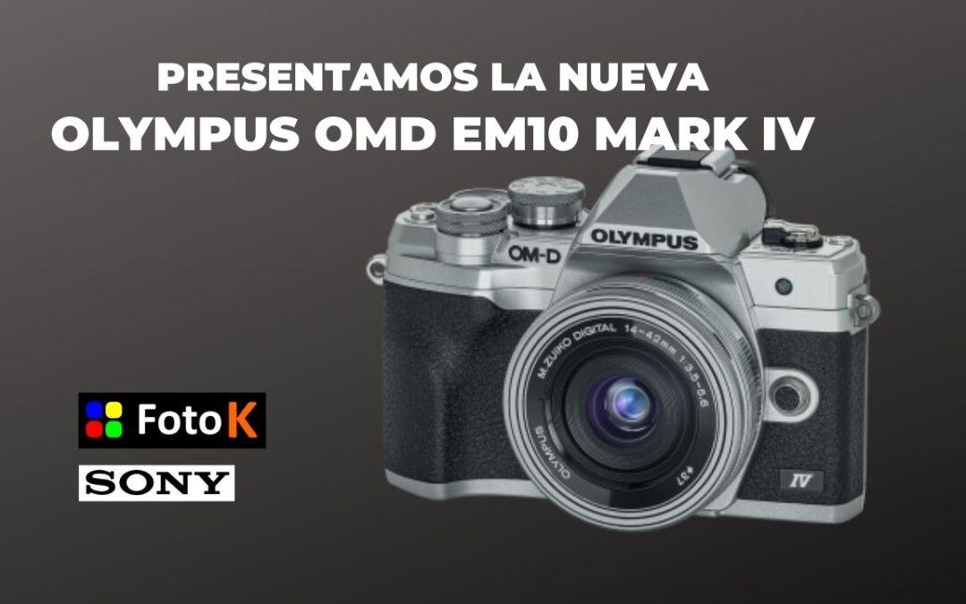Olympus OMD EM10 Mark IV, la nueva cámara de Olympus