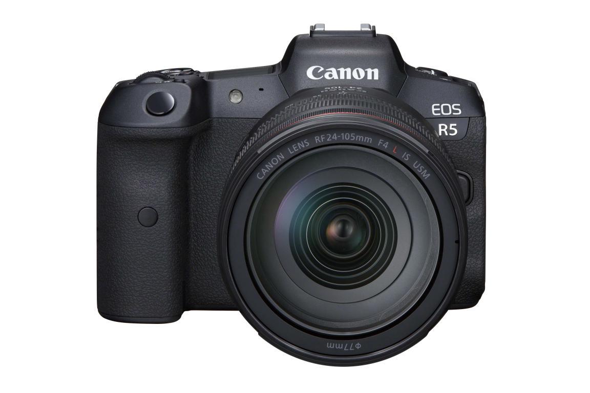 Nuevo Firmware para la Canon EOS R5