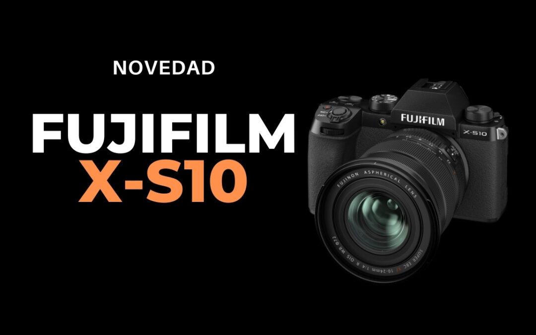 Fujifilm X-S10, ligera y profesional