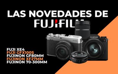 Las últimas novedades de FujiFilm