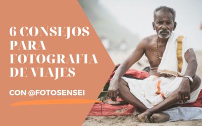 6 Consejos para FOTOGRAFÍA de VIAJES