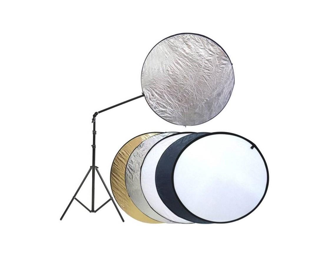 reflectores de luz en fotografía