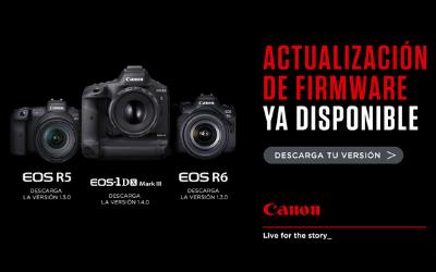 Actualización de Firmware en cámaras CANON