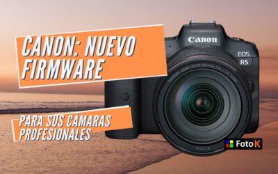 Canon: Nuevos Firmwares para sus cámaras profesionales