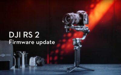 DJI RS 2 y RSC 2: actualización de Firmware