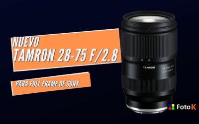 Tamron 28-75 F/2.8, el nuevo objetivo para Full Frame de Sony