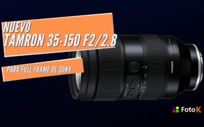 Tamron 35-150 F2/2.8, El zoom más luminoso