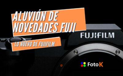 Fujifilm, aluvión de novedades!!